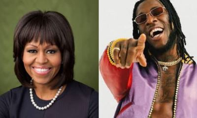 MICHELE OBAMA: Burna Boy's song gives me extra workout boost