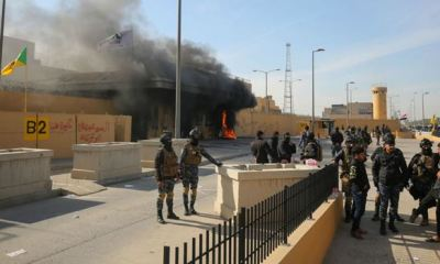5 rockets hit US embassy in Baghdad amid rising anti-govt protests
