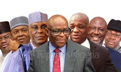 YEAR IN REVIEW: Atiku's woes, Saraki's fall, Kalu's imprisonment, others. Are these signs APC is consolidating?