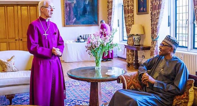 Image result for Archbishop of Canterbury breaks silence on Boko Haram killing of CAN Chairman, other Christians