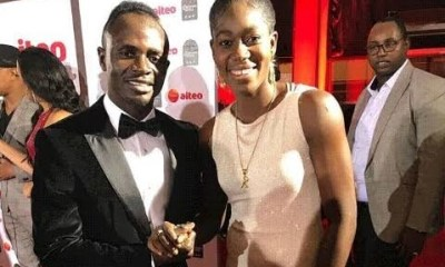 Sadio Mane and Asisat Oshoala