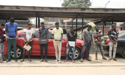 CYBERCRIME: EFCC picks up 9 suspects in Lagos