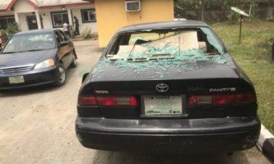 BAYELSA: Hoodlums attack Diri's house in Yenagoa (Photos)
