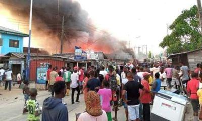 DIRI: Chaos in Bayelsa; protesters besiege Govt House, Police take over APC secretariat