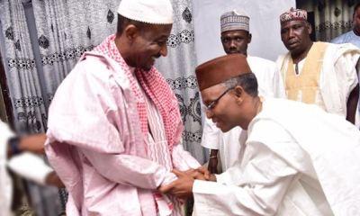 JUST IN... Gov El-Rufai meets with deposed Emir Sanusi