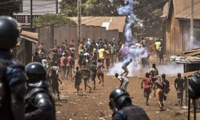 GUINEA: Opposition attack polling station, clash with police to disrupt referendum