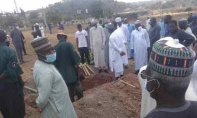 Abba Kyari buried at Gudu cemetery, Abuja