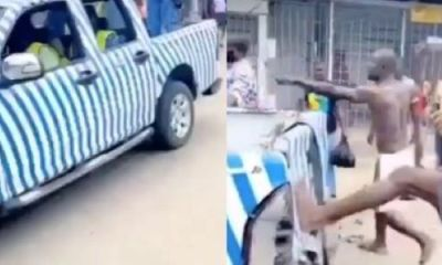 WARRI: Task force team brutalized by residents opposed to sit-at-home order (video)