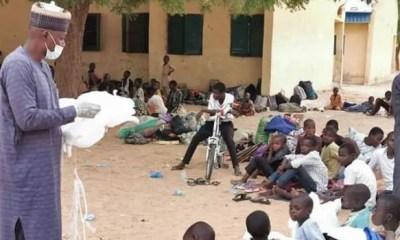 Yobe State receives 125 Almajiris evacuated by Gombe govt
