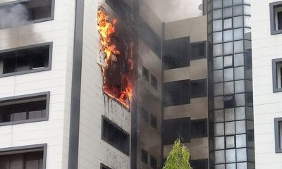 Fire guts Accountant General's office in Abuja