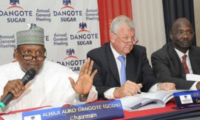 Dangote Sugar's Q1 profit sheds N632m despite bigger revenue amidst spiralling production cost