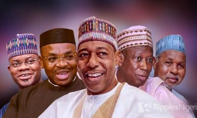 RANKING NIGERIAN GOVERNORS, APRIL 2020: Best, not good enough; COVID-19 exposes incompetence in high places