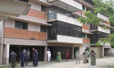 EFCC hands over property recovered from Diezani to Lagos for use as covid-19 isolation centre