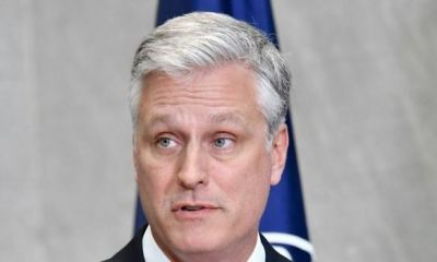US National Security Adviser Robert O'Brien