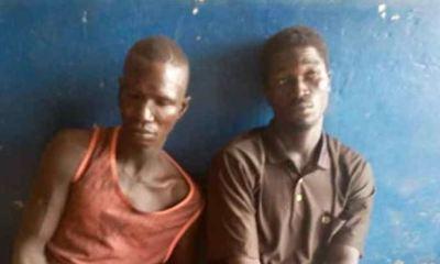 Police arrest 2 traffic robbers on Lagos-Ibadan Expressway