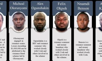 US charges six Nigerians over $6m internet scam
