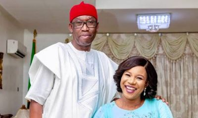 Gov Okowa, wife, daughter recover from covid-19