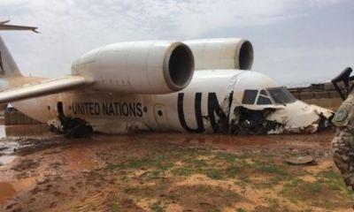 11 injured as UN plane crash-lands at Gao Airport, Mali