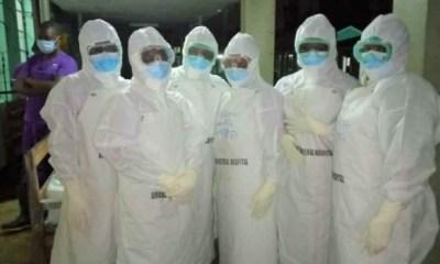 CROSS RIVER: Medical workers seek release of colleague