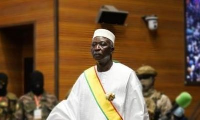 MALI: Interim president sworn in, vows to hand over power in 18 months