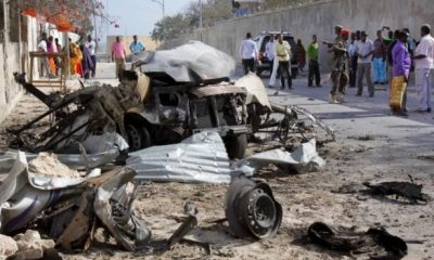SOMALIA: Three killed, seven others injured in suicide bomb attack