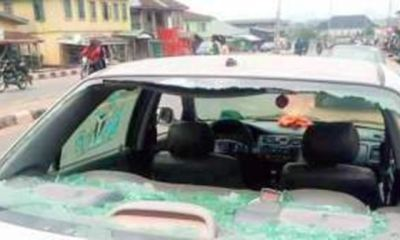 ONDO GUBER: One feared dead, five injured, car razed, as APC, PDP supporters clash