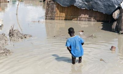 Floods displace one million people in South Sudan