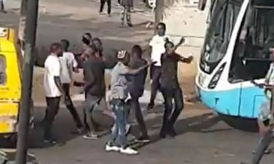 Suspected thugs attack EndSARS protesters in Lagos (Video)