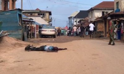 ONDO GUBER: Man stabbed at polling unit
