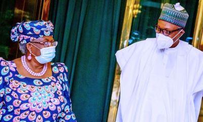 RACE FOR WTO DG: Buhari backs Okonjo-Iweala, pledges to lobby world leaders
