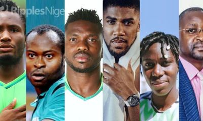 Year In Review: 10 top Nigerian sporting personalities of 2020