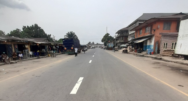 FACT CHECK: Did Governor Ikpeazu commission four roads in Aba? Yes, but...