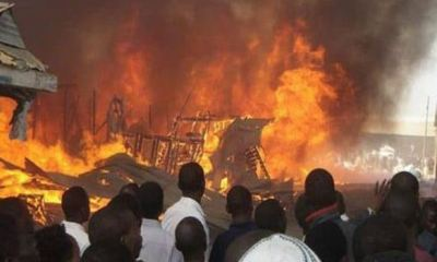 Fire guts building in Kano, kills three family members