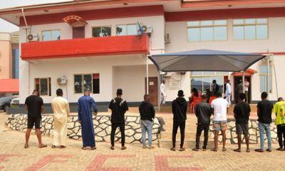 EFCC arrests 11 students, farmers for alleged internet fraud in Osogbo