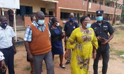 Commissioner pays surprise visit to schools to monitor covid-19 compliance