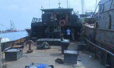 Five suspected illegal oil dealers, vessel arrested in Lagos
