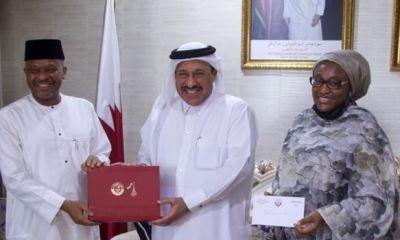 IDPs: Qatar donates $50,000 to Nigeria refugees commission