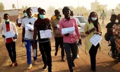 Chadians protest total lockdown of nation's capital over COVID-19 outbreak