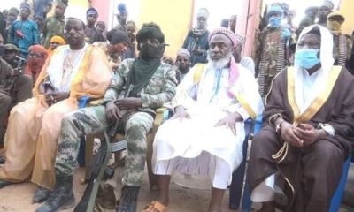 Sheik Gumi reportedly meets with bandits in Zamfara forests (Photos)