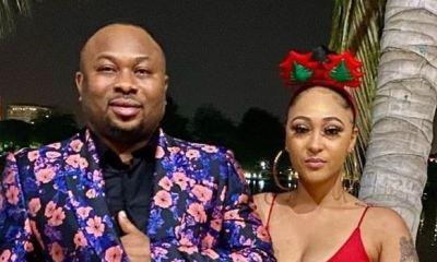 Tonto Dikeh's ex, Churchill, presents actress, Rosy Meurer, as new wife