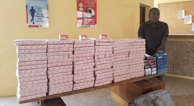 Drug baron who escaped arrest for 10 years nabbed with drugs worth N50m