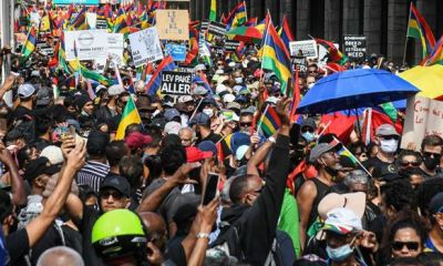 Massive protests in Mauritius to force govt to resign