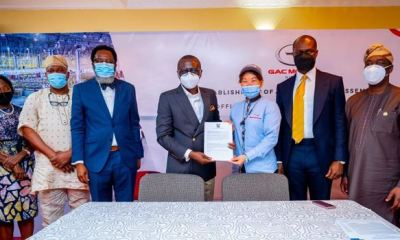 Lagos signs deal for vehicle assembly plant, to compete with Uber