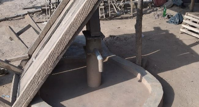 A none-functional borehole in Uzo Uwani