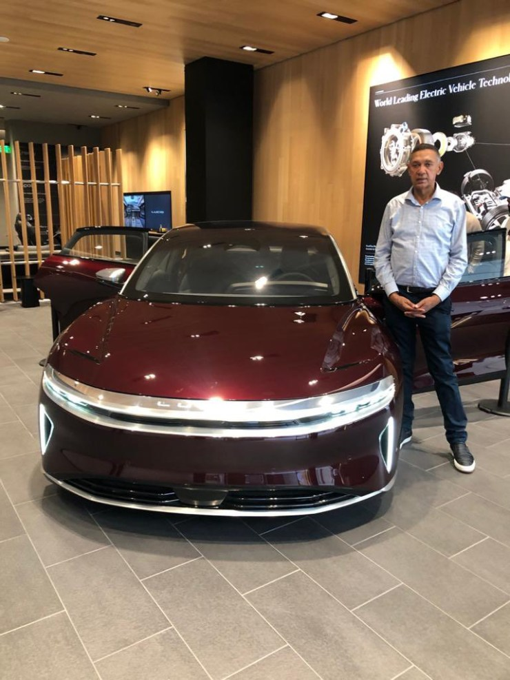 Ben Murray-Bruce pays deposit to acquire electric car