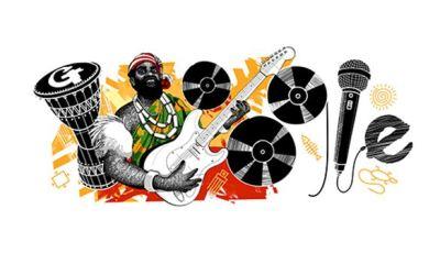 Google celebrates late Nigerian musician, Oliver De Coque