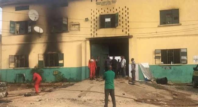 JAILBREAK: 1, 844 inmates escaped from Imo custodial centre - NCoS |  Ripples Nigeria