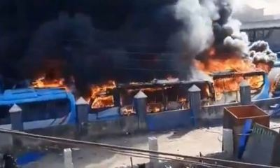 Sanwo-Olu says insurance did not cover buses burnt during #EndSARS chaos