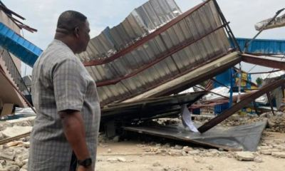 Windstorm kills one, injures three in Imo