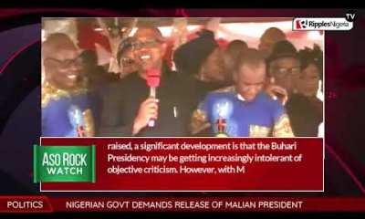 ASO ROCK WATCH: Buhari's jabs at Mbaka
